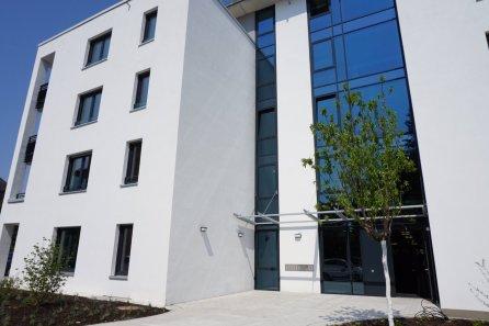 Außenfassade des Betreuten Wohnens der Theodor Fliedner Stiftung auf Turley | Foto: Stadt Mannheim