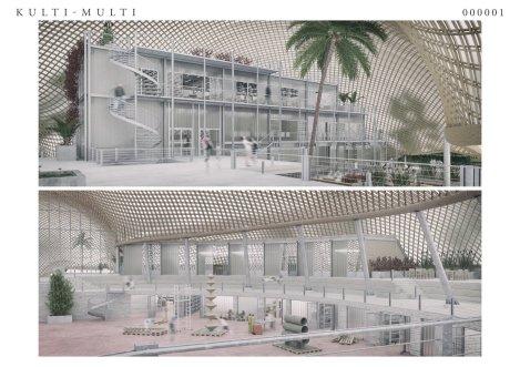 Die Arbeit der Architekten Christopher Rotman und Daniel Wilken aus Heidelberg beschreibt ein breites Spektrum an innovativen Möglichkeiten des Innenausbaus   Pressefreigabe: Stadt Mannheim