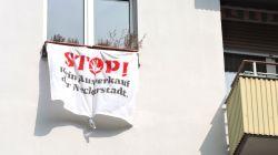 fenster und balkon aktionen titel - Fenster- und Balkon-Aktionen gegen Mietwucher und Verdrängung