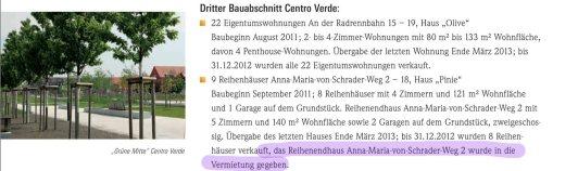 geschaeftsbericht gbg 2012 - Eisenhauer und GBG klären Vorwürfe weitgehend auf