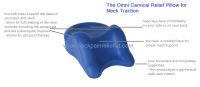 Neck Pillow | Cervical Support Pillow | Pillow for Neck ...