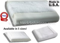 Chiropractic Pillow For Neck Pain