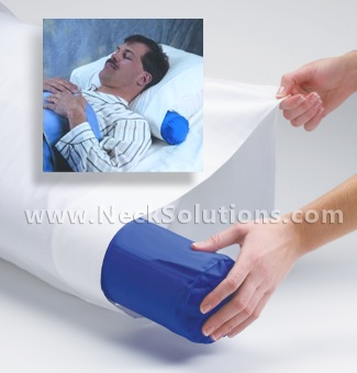 Neck Roll Pillow Cover
