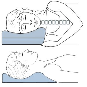 neck pain pillow good pillow for