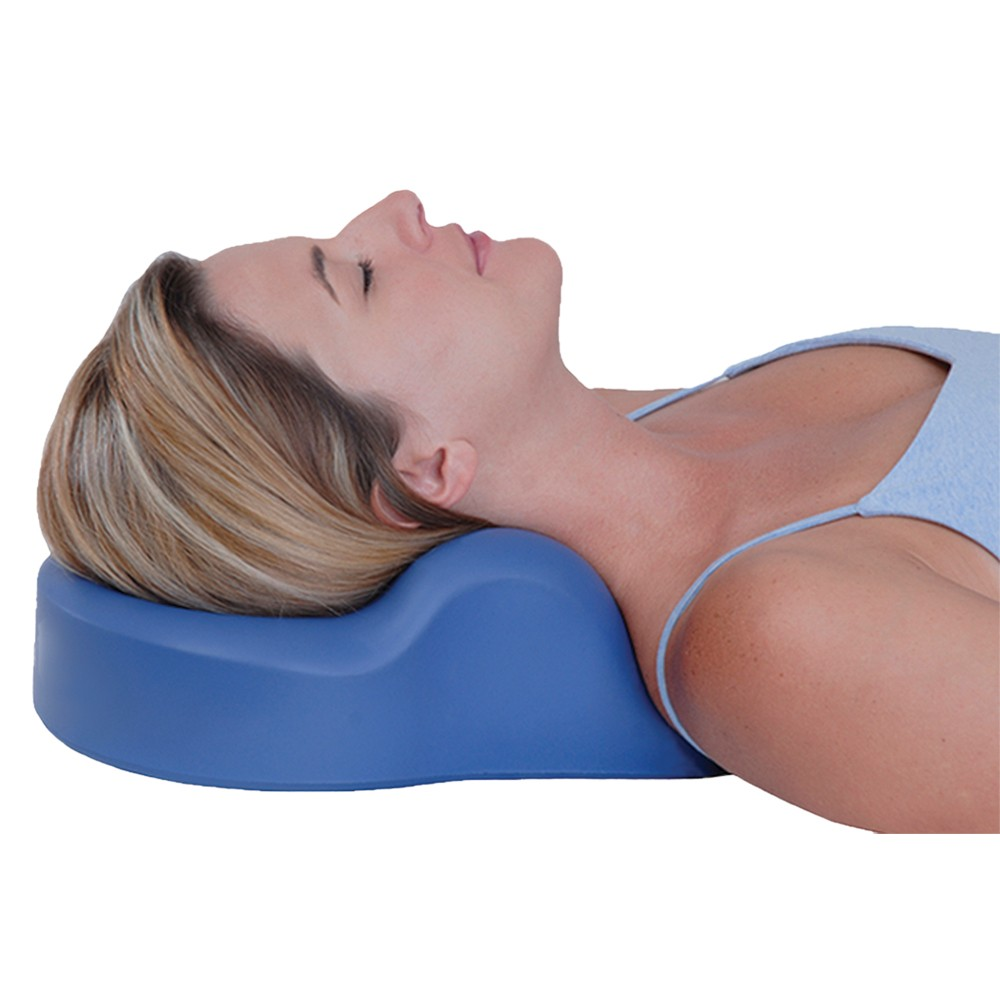 cervical traction pillow helps restore