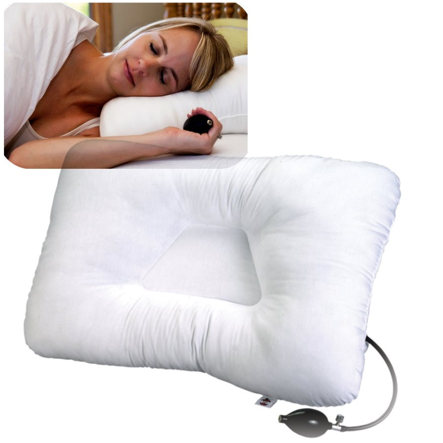 inflatable neck pillow increases