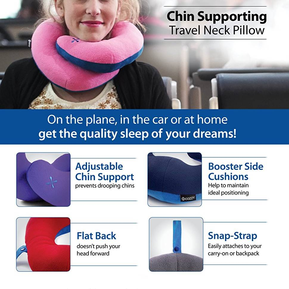 wrap around neck pillow twist