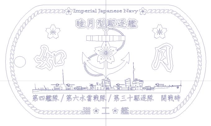 ぞくぞく竣工させた駆逐艦睦月型のちょっとした各艦艇差異