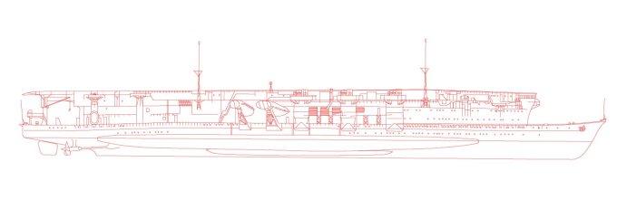 航空母艦「龍驤」一次改装時を再現中