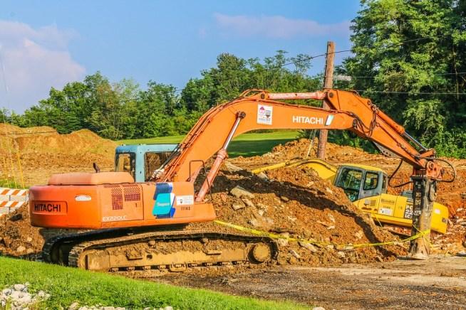 excavation process