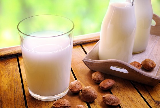 Almond Milk made with Coconut Water