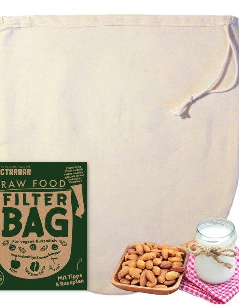Nussmilchbeutel aus Baumwolle von NECTARBAR