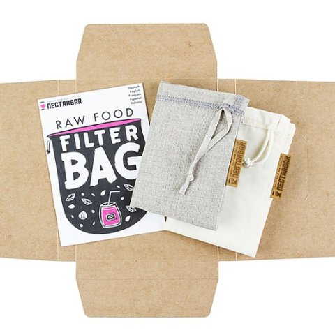 Raw Food Filter Bag - Mixpack
