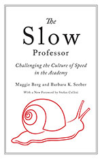 Maggie Berg & Barbara K. Seeber, The Slow Professor: Challenging the Culture of Speed in the Academy (University of Toronto Press 2016), 128 blz.