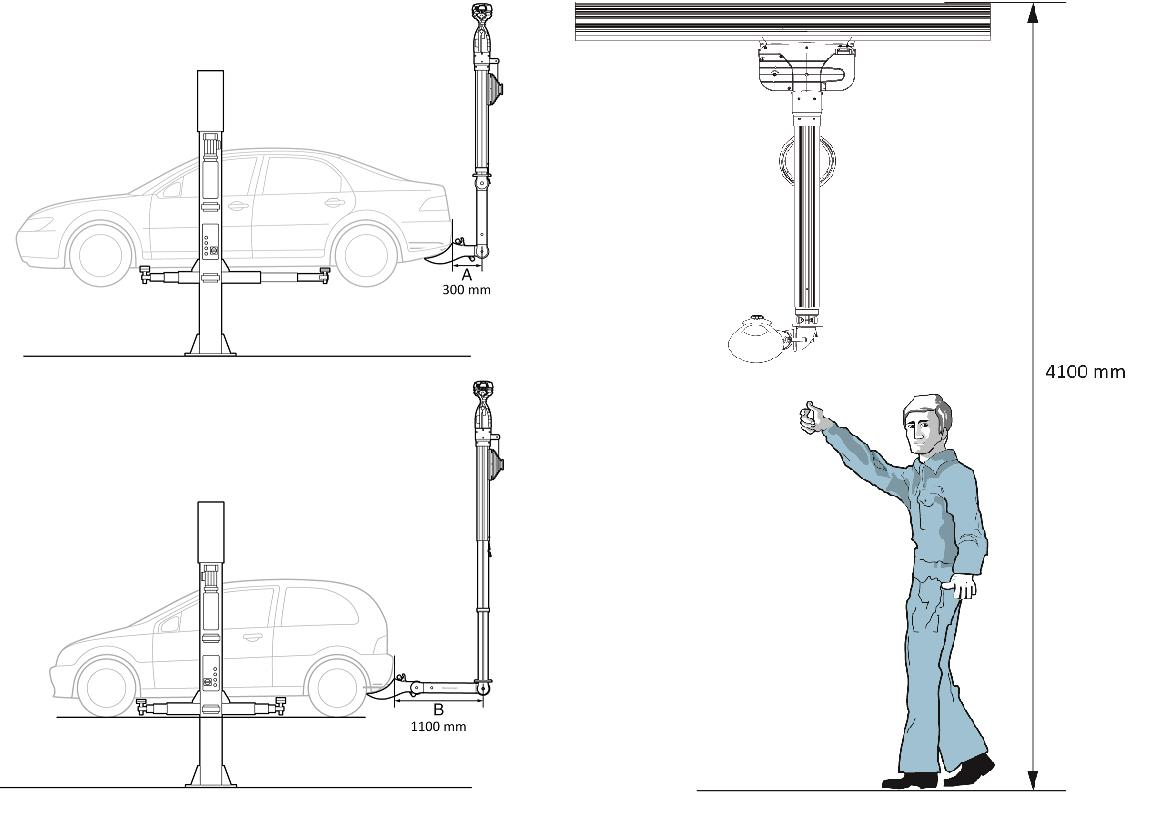 Touchless Exhaust Extraction System