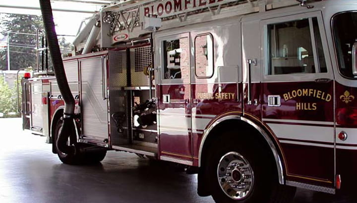 vehicle exhaust extraction fire and
