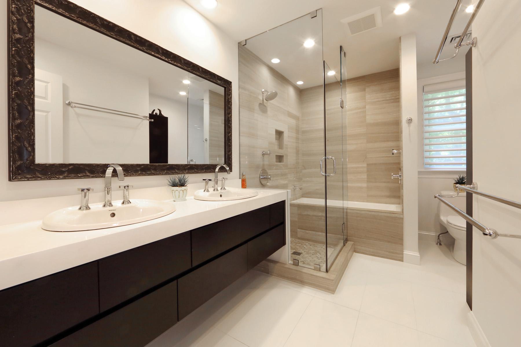 Bathroom Remodel  New England Design  Construction