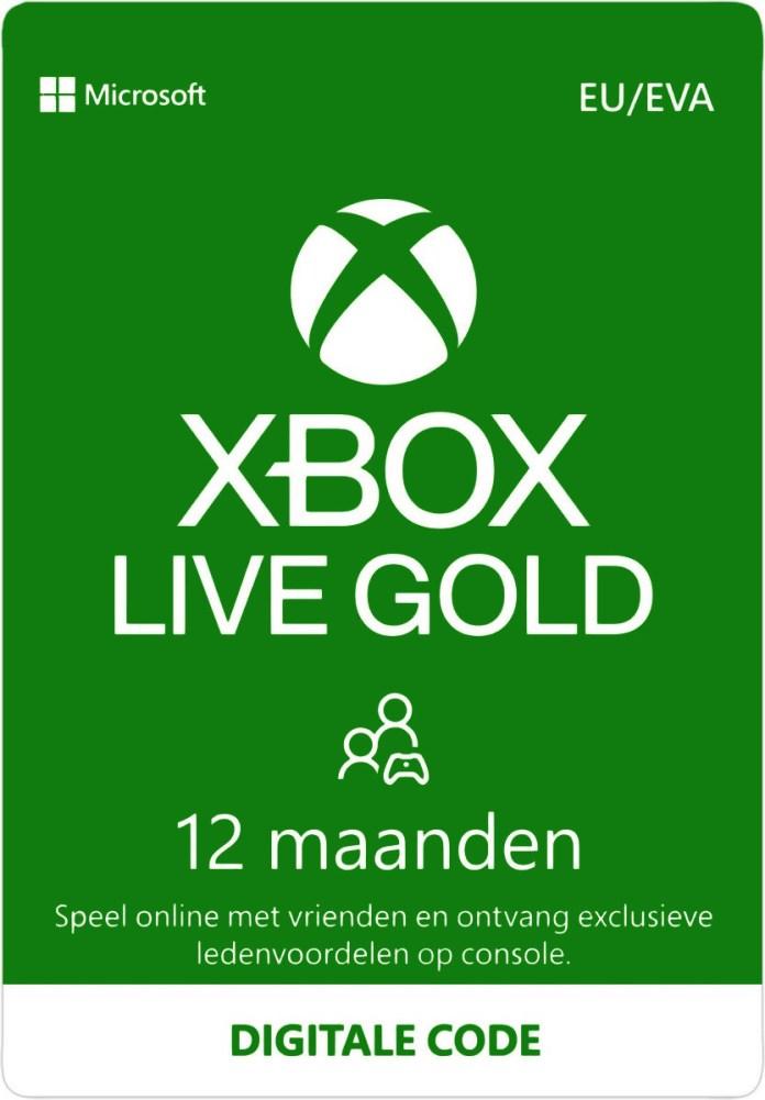 Xbox Live 12 Maanden Gold Membership Eurozone Digital Code