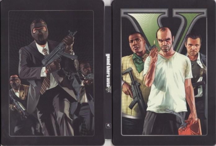 Grand Theft Auto 5 (GTA V) (steelbook)