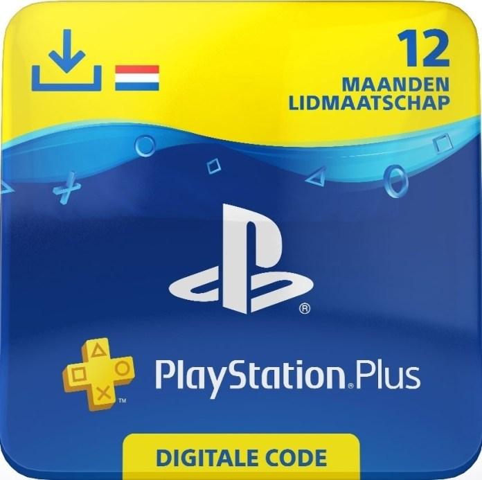 Playstation Plus 12 maanden (Enkel voor NL / digitaal)