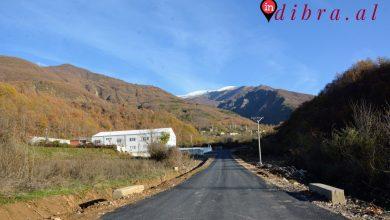 Photo of Asfaltohet rruga e fshatit Melan/Diber