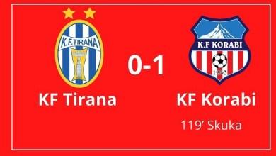 Photo of KF Korabi triumfoi sot mbi KF Tirana