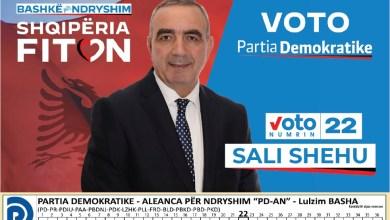 Photo of Sali Shehu për dibranët që votojnë në Tiranë