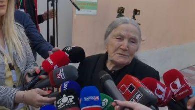 """Photo of """"Po votoj për herë të fundit"""", 97 vjeçarja prek me deklaratën (VIDEO)"""
