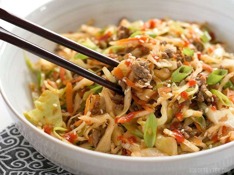 cabbage egg fry recipe
