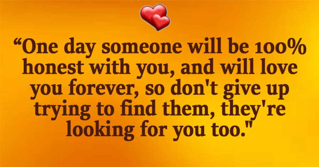 someone to love quote