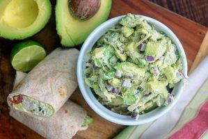 Healthy Chicken Avocado Salad Recipe (With Video) 1