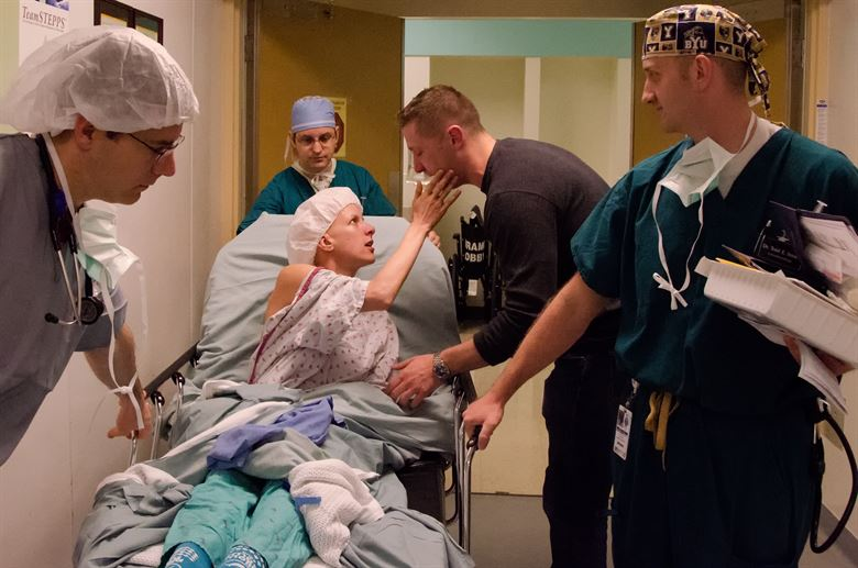 patient undergoing chemotherapy treatment