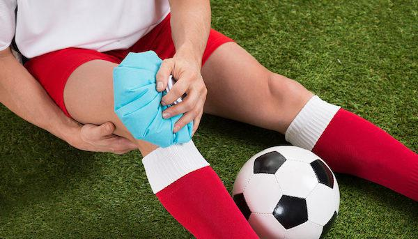 common sports injuries - knee injuries