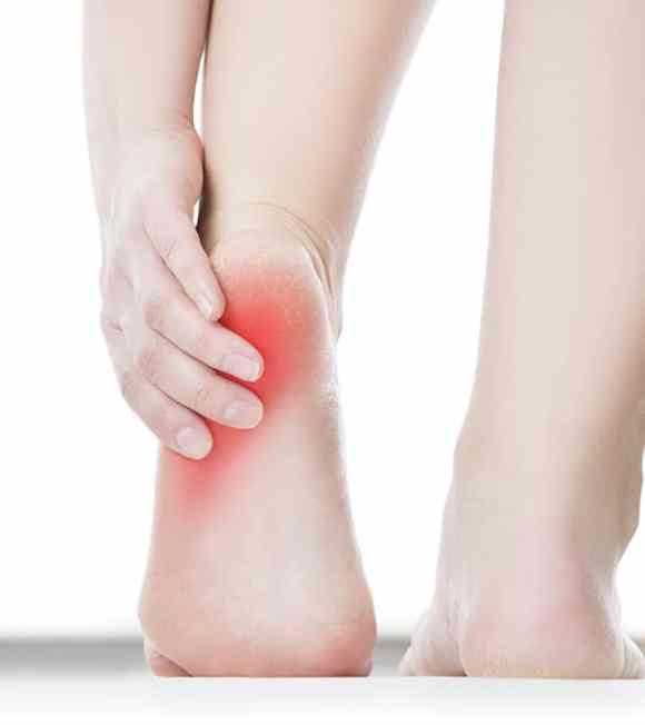 Gymnastics Heel Cups for heel pain