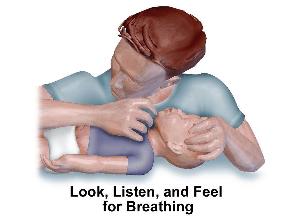 How to perform Cardiopulmonary resuscitation or CPR in infants
