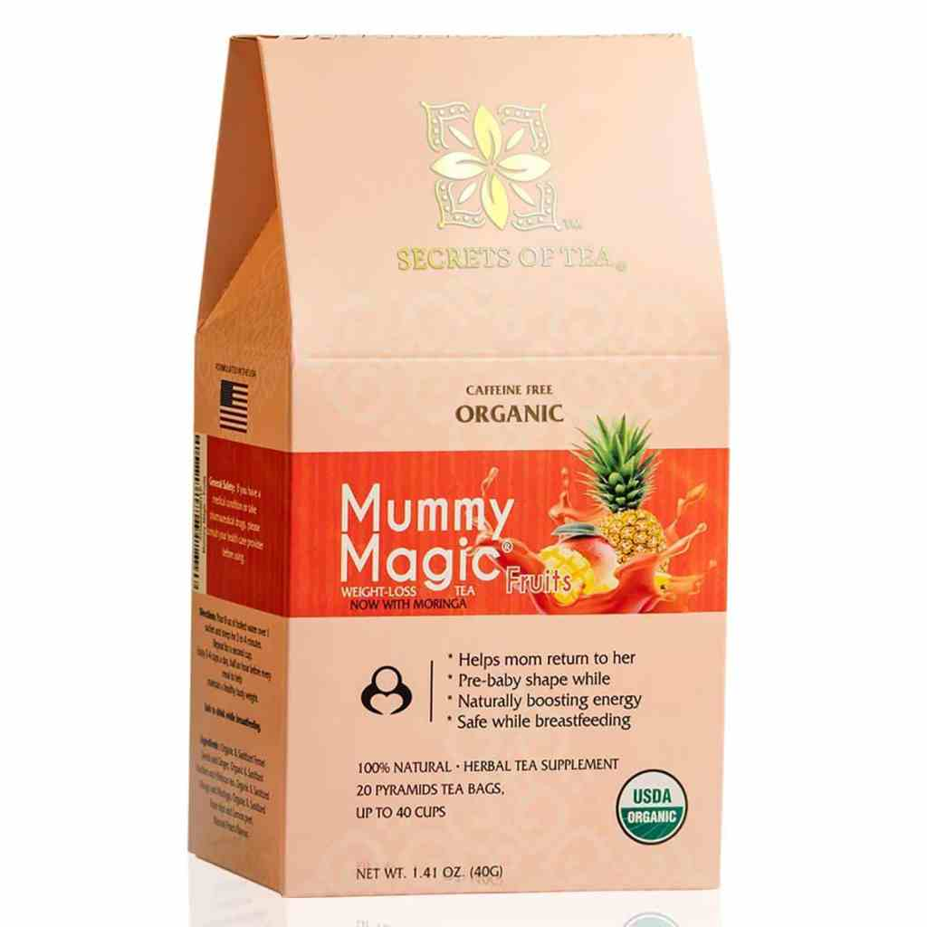 Mummy Magic Weight Loss Tea for breastfeeding mothers