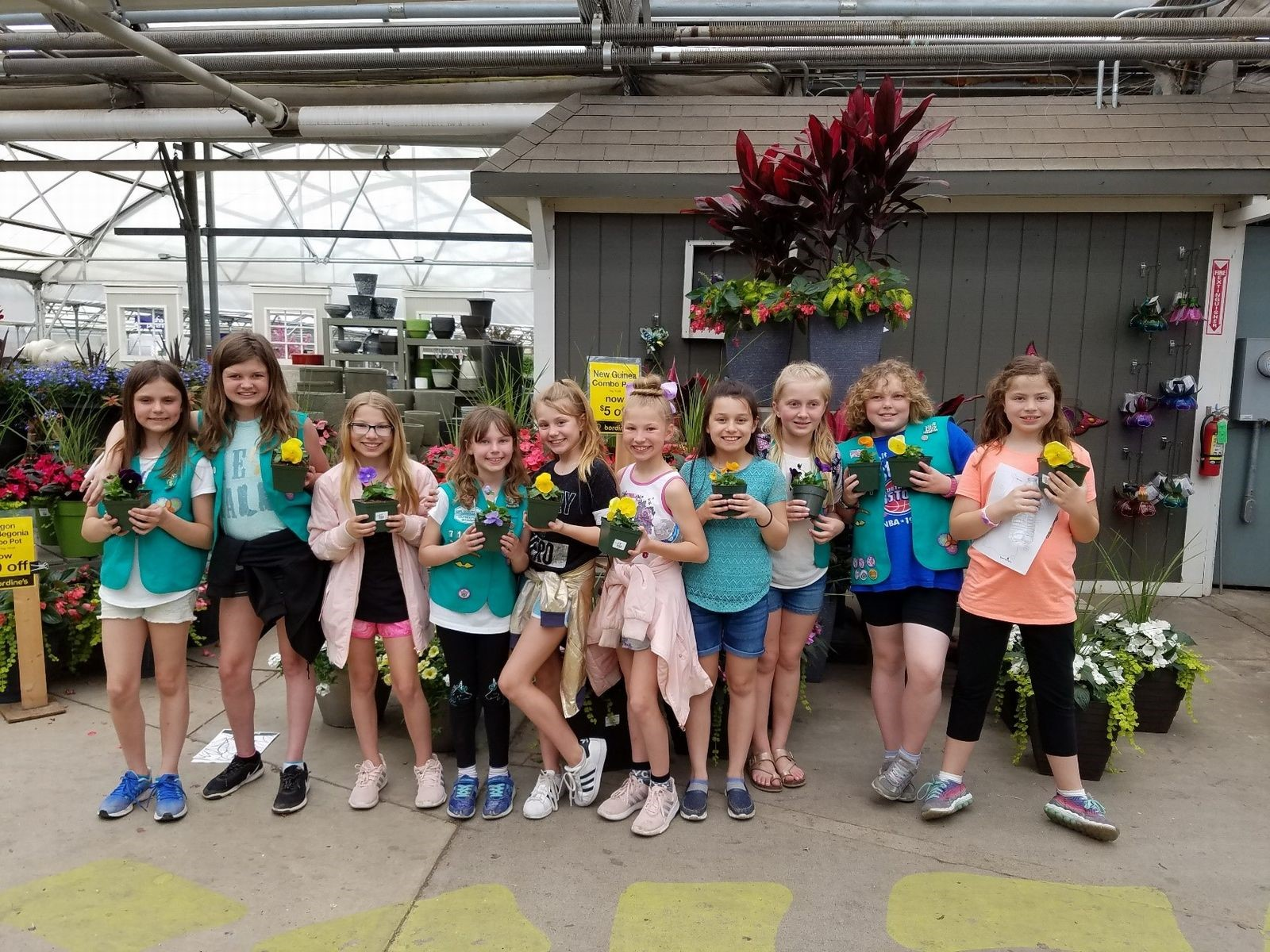 Girl Scouts journey