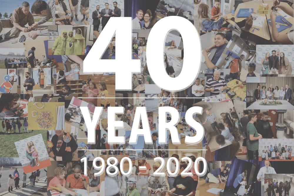National Energy Education Development Project 40 Year Anniversary Collage