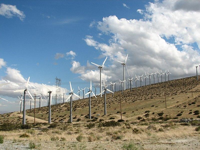 California Leads in Wind Power