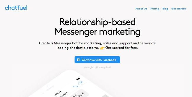 Chatfuel Chatbot Platform