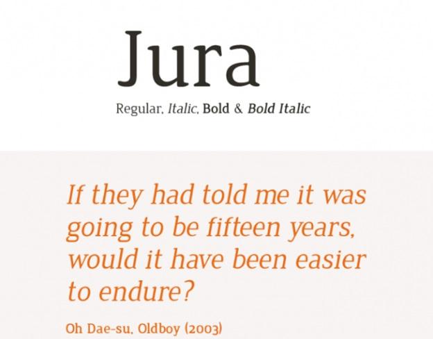 Jura (serif)