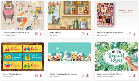Illustrations in Videos