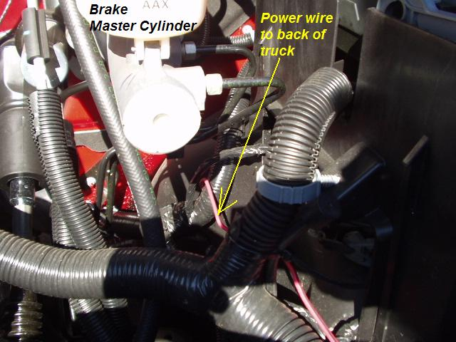 The Brake Wire Where To You Find It To Hook It Up To Your