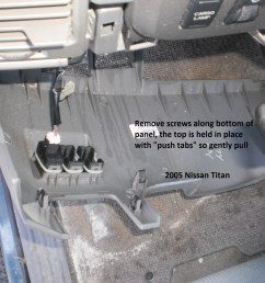 nissan titan brake controller installation instructionsclick on any picture for a larger higher quality image [ 2048 x 1536 Pixel ]