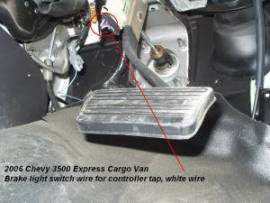 2006 Chevy Express Van Brake Controller Installation