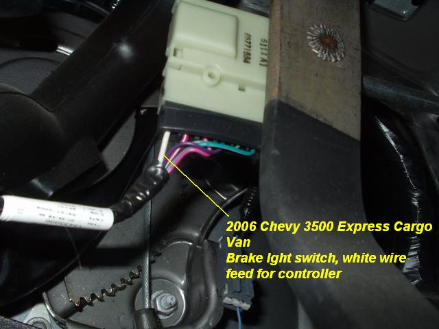 trailer brake controller wiring diagram boat dual battery switch 2006 chevy express van installation instructions