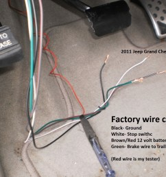 jeep grand cherokee trailer brake wiring diagram [ 1600 x 1200 Pixel ]