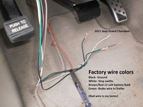 small resolution of jeep grand cherokee trailer brake wiring diagram