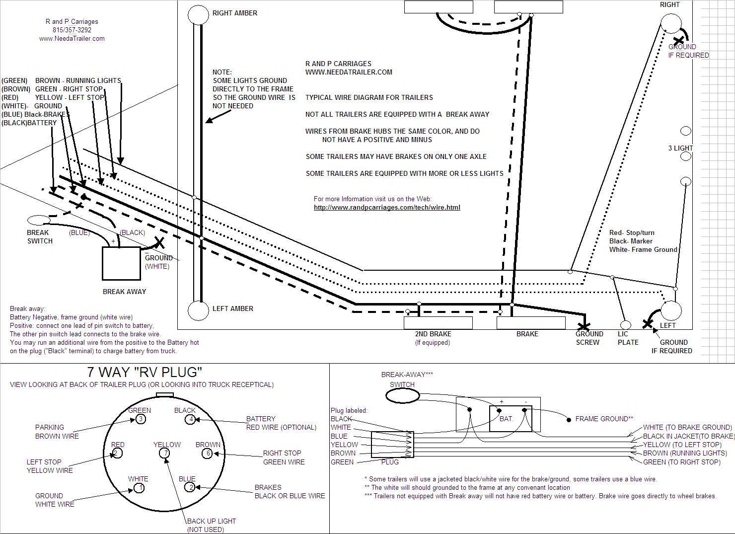 Horse Trailer Electric Brakes Wiring Diagram