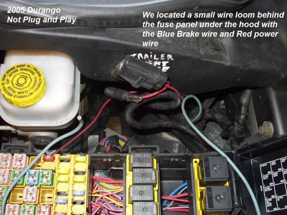 medium resolution of hemi dodge durango trailer brake controller install
